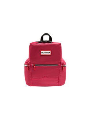Hunter Original Mini Top Clip Backpack Nylon Bright Pink