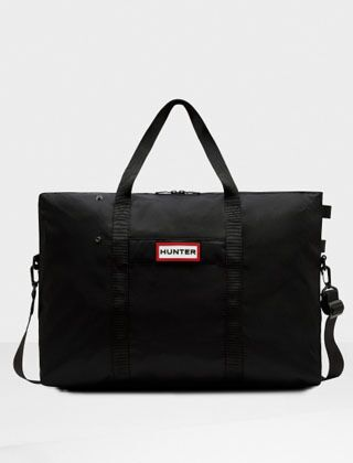 Hunter Original Nylon Weekender Bag Black