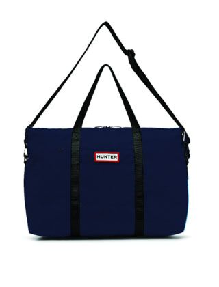 Hunter Original Nylon Weekender Bag Navy