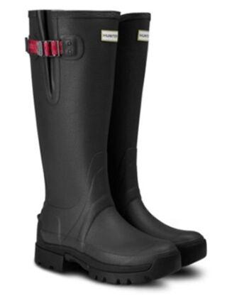 Hunter Women's Balmoral Side Adj 3mm Neo Boot Dark Slate/Peppercorn