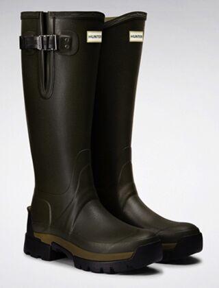 Hunter Women's Balmoral Side Adj 3mm Neo Boot Olive