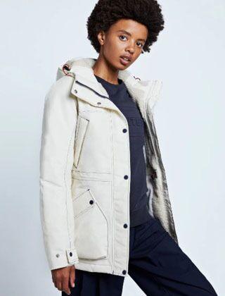Hunter Women's Original Insulated Jacket Off White