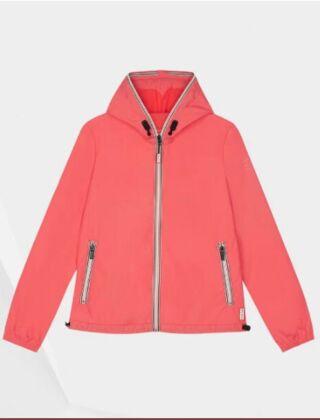 Hunter Women's Original Lightweight Packable Shell Jacket Rhythmic Pink