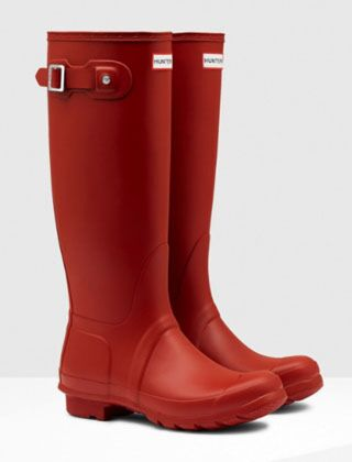 Hunter Women's Original Tall Boot Military Red