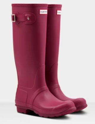 Hunter Women's Original Tall Boot Red Algae