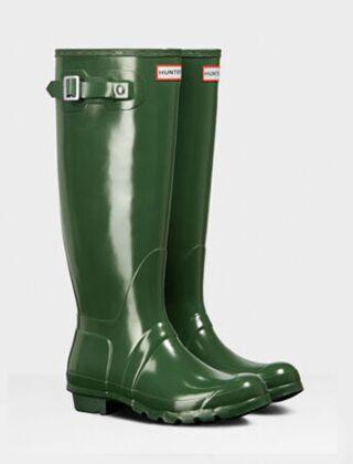 Hunter Women's Original Tall Gloss Boot Hunter Green