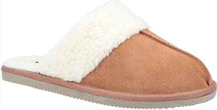 Hush Puppies Arianna Mule Slippers Tan