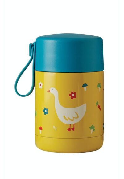 Frugi Yummy Insulated Food Flask Bumble Bee/Duck