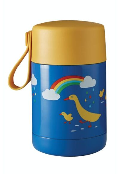 *SS21-images* Frugi Yummy Insulated Food Flask Runner Ducks