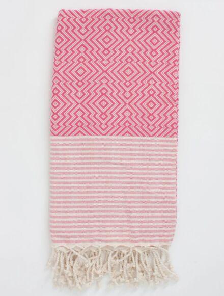 Bohemia Design Inca Hammam Towel Pink