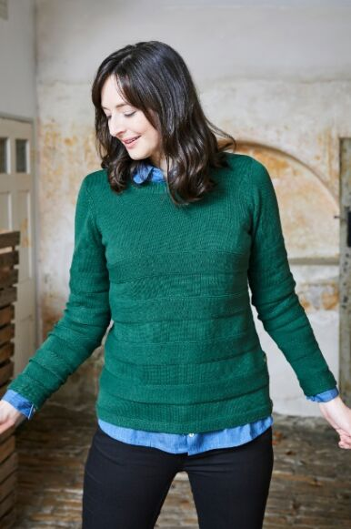 Lily and Me Isabelle Knit Jumper Green