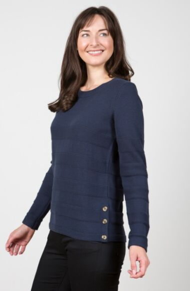 Lily and Me Isabelle Knit Jumper Navy
