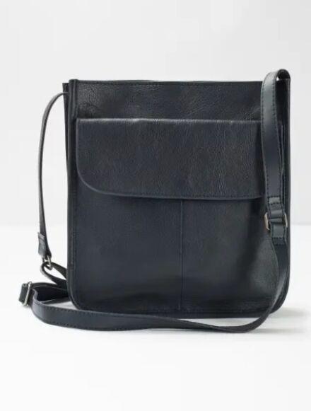 White Stuff Issey Pocket Crossbody Bag Navy