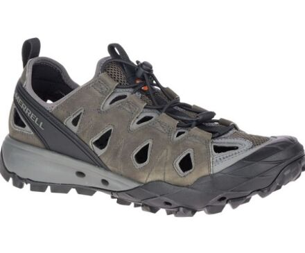 Merrell Choprock Leather Sieve Water Shoes Merrell Grey