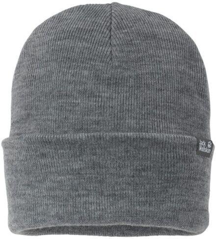Jack Wolfskin Rib Hat Grey Heather