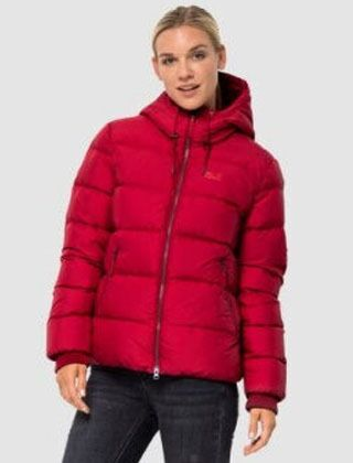 Jack Wolfskin Women's Crystal Palace Jacket Ruby Red
