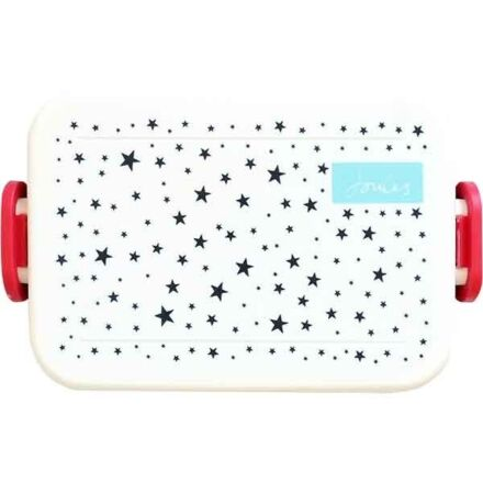 Joules Star Clip Sided Lunch Box