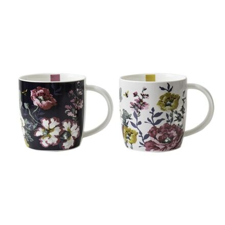 Joules Cambridge Floral Mugs