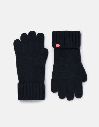 Joules Joanie Knitted Gloves French Navy