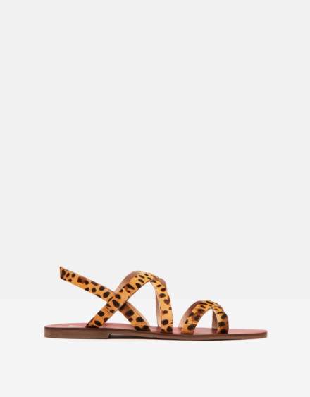 Joules Roselle Luxe Sandal Ocelot