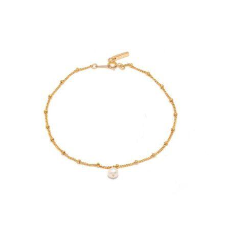 Ella Palm Jovie Gold Pearl Bracelet Gold