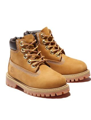 "Timberland Iconic 6"" Premium Boots Wheat Junior"