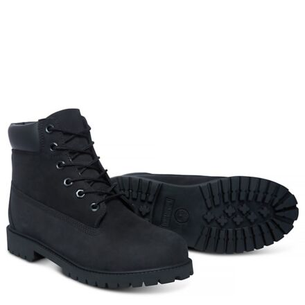 """Timberland Iconic 6"""" Premium Boots Black Junior"""