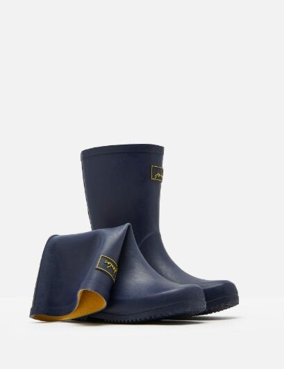 Joules Junior Roll Up Welly French Navy