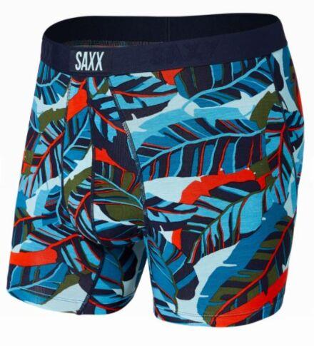 SAXX Vibe Boxer Brief Blue Pop Jungle