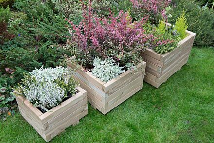 Forest Gardens Kendal Square Planter (set of three)