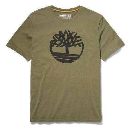 Timberland Kennebec River Tree Logo Tee Grape Leaf