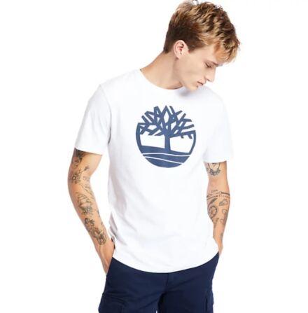 Timberland Kennebec River Tree Logo Tee White