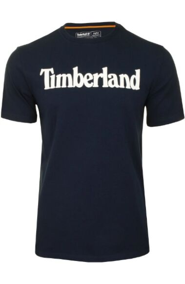 Timberland Short Sleeve Kennebec River Linear Tee Dark Sapphire