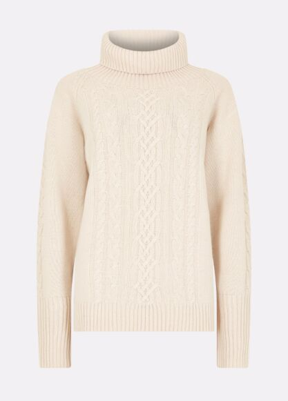 Dubarry Kennedy Knitted Sweater Chalk