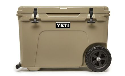 Yeti Tundra Haul Wheel Cooler Tan