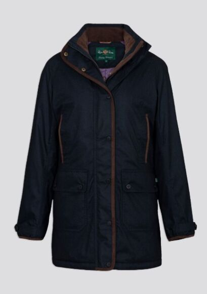 Alan Paine Fernley Ladies Weekend Coat Dark Navy