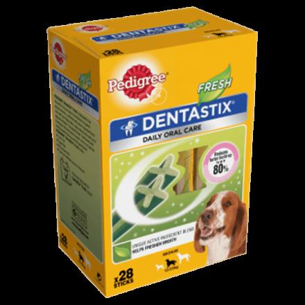 Pedigree Dentastix Fresh Medium Dog 28 Pack