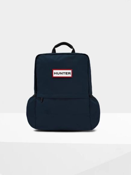 Hunter Original Large Nylon Backpack Navy