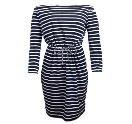 Barbour Waveson Dress Navy/White