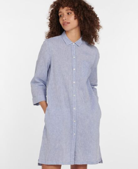 Barbour Seaglow Dress Chambray