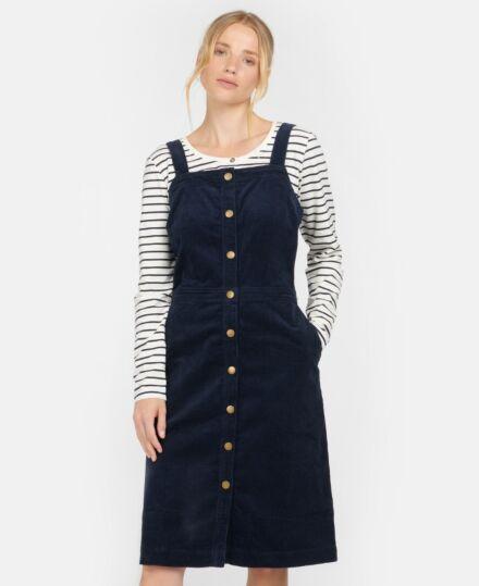 Barbour Woman's Darcie Pinafore Dress Navy