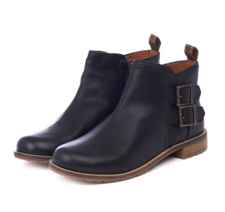 Barbour Sarah Low Buckle Boot Black