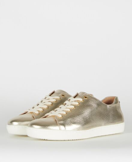 Barbour Hallie Trainers Gold