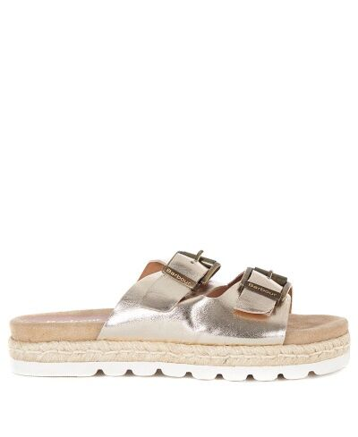 Barbour Lola Sandals Gold