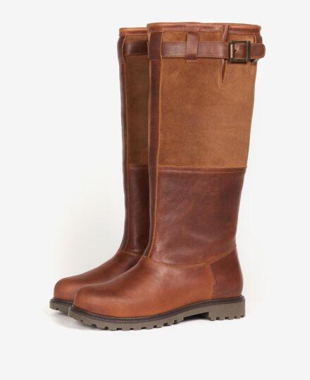 Barbour Acorn Boots Brown