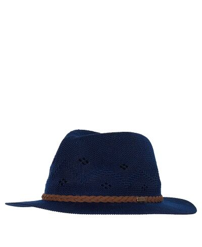 Barbour Flowerdale Trilby Hat Navy