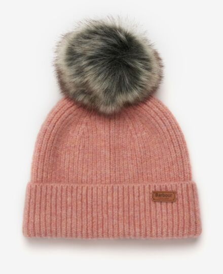 Barbour Chilton Beanie Pink
