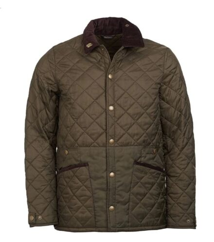 Barbour Men's Icons Liddesdale Quilted Jacket Olive