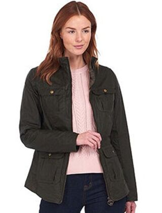 Barbour Lightweight Filey Wax Jacket Archive Olive