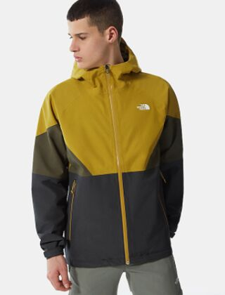 The North Face Lightening Jacket Asphalt Grey - Matcha Green
